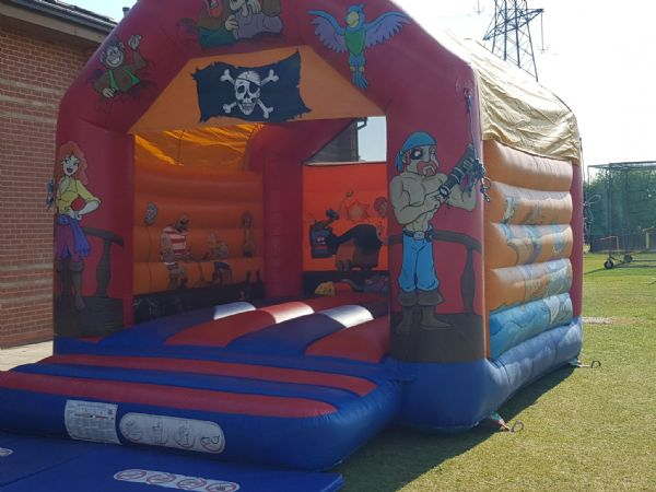 14' Pirate Themed Castle ideal for Beach Parties